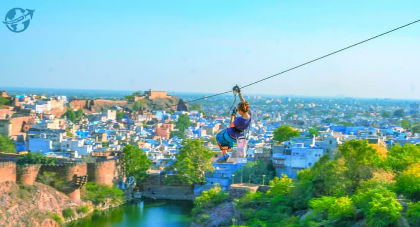 Flying Fox,  Best places to visit in Jodhpur