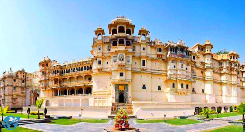 City Palace. Palaces and Forts in Udaipur