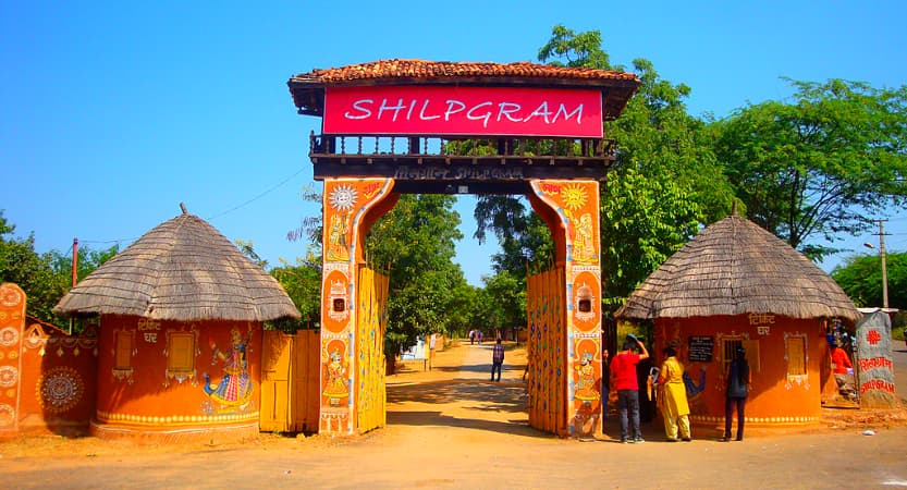 shilp gram, Best places to visit in Udaipur