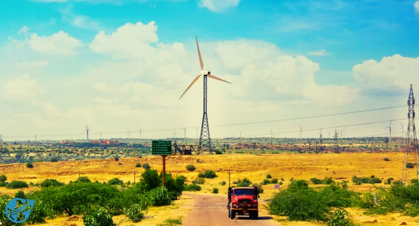 Best Places to visit in Jaisalmer, Windmill Park